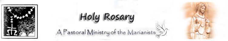 Holy Rosary Banner